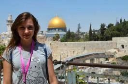 Побывала в Израиле Вика Усипенко. Иерусалим.