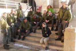 Побывала в Израиле Марина Кирсанова.