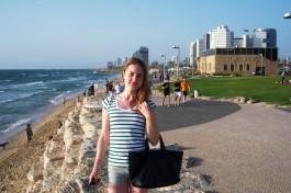 Побывала в Израиле Юлия Петренко. Тель-Авив.