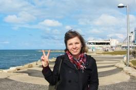 Побывала в Израиле Дарья Моргендорфер. Тель-Авив.
