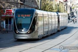 Иерусалимский трамвай.