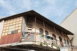 Один из домов в районе Нахлаот, Иерусалим.