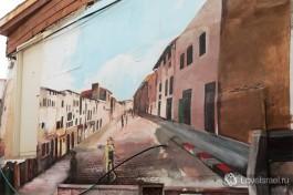 Настенные рисунки на одном из иерусалимских домов.