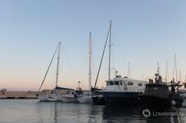 Яффский порт - один из древнейших портов Средиземноморья. Яфо Израиль.