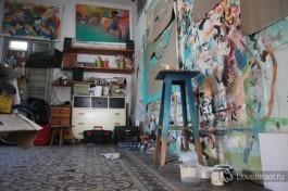 Студия Рами Меири в Тель-Авиве.