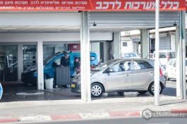 Израильский автосервис. Высокие нормы безопасности труда.