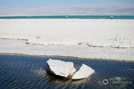 Соль мертвого моря.
