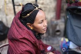 И такие граждане Израиля тоже встречаются на улицах: новые репатрианты из Эфиопии.