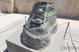 Крепость Массада, в которой находился один из дворцов Ирода.