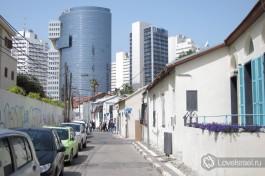 Тель-Авивский район Неве-Цедек, что в переводе означает