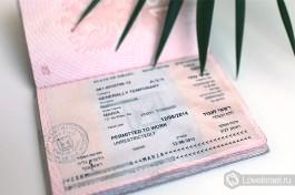 Виза временного жителя Израиля (Алеф Хамеш) сроком действия 1 год с правом работы
