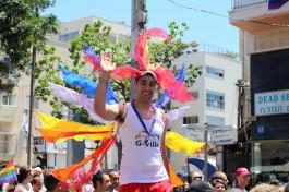 Гей парад в Тель-Авиве, Израиль.