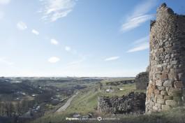 Вид с холма одной из Крепостей.