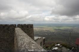 Крепостные стены Сигнахи.