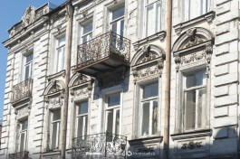 Виды Тбилиси. Центр города обветшалой романтики.