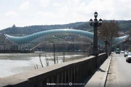 Набережная Тбилиси.