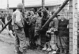 Освобождение концентрационного лагеря. Памяти жертв Холокоста
