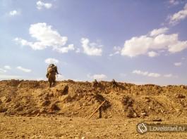 Служить водителем в Армии Обороны Израиля - на южной израильской границе.
