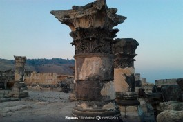 Базальтовая колонна коринфкого стиля, город Сусита.
