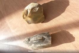 Призматическое кремниевое ядрище. Каменная технология эпипалеолита.