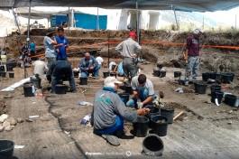 Раскопки в Израиле.
