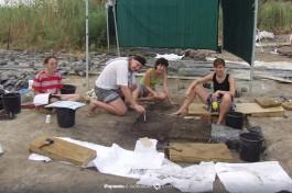 99-й год. Раскопки поселения Охало-2. На глубине 2-х метров под водами озера Кинерет.