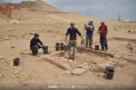 Раскопки в Израиле. Период халколит (медно-каменный век). Поселение Фацаэль-2. Долина реки Иордан.