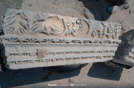 Тонкость и мастерство резьбы по базальту. Римский период. Сусита.