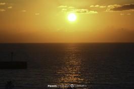 Закат в Ашдоде.