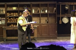 Одна из сцен спектакля