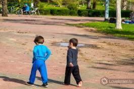 Парк Яркон в Тель-Авиве. Фото - Алена Яроцевич.