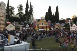 Ежегодный фестиваль еды в Реховоте... что поделаешь, мы все израильтяне, любим покушать :)