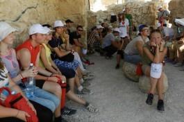Мы путешествуем по Израилю в 2013-м году.
