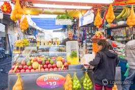 Свежие овощи в Израиле.