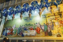 Греческая мозаика в Церкви Гроба Господня.
