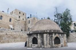 Купол Армянской Капеллы Святого Грегория в бывшем клостере монастыря крестоносцев.