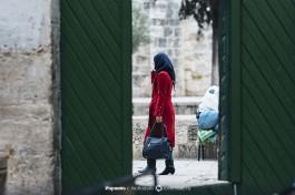 Мусульманка на Храмовой горе.