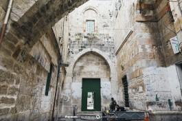 Железные ворота на Храмовую гору.